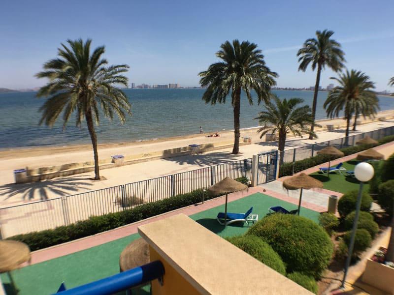 Balcony overlooking the Mar Menor
