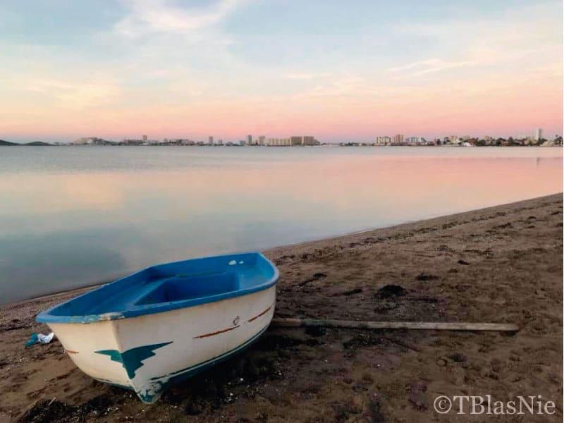 Boat by the Mar Menor - Photo credits: Toñi Blasco