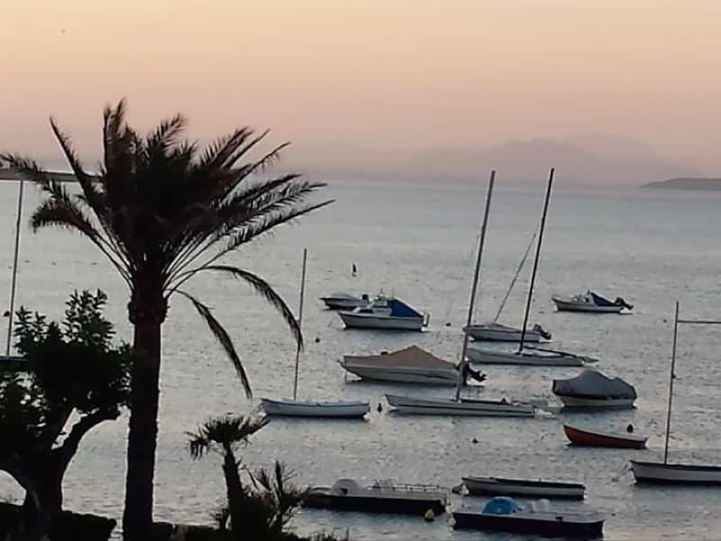 Boats in the Mar Menor - Photo credits: Toñi Blasco
