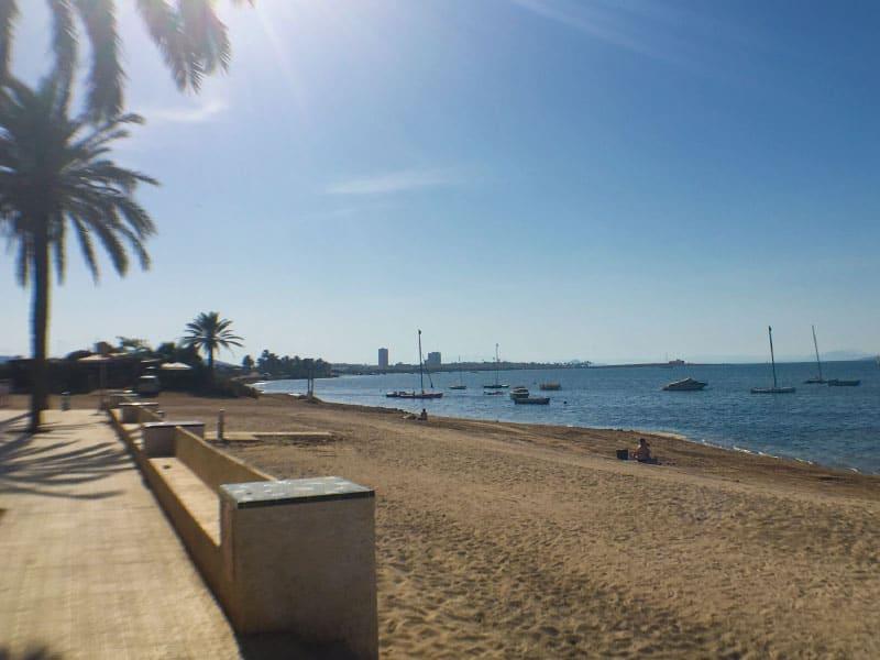 Beach promenade a few steps away