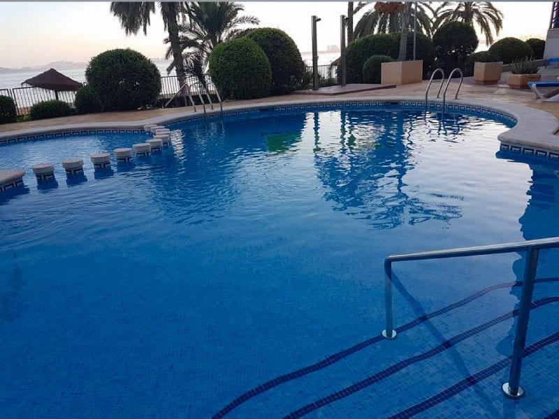 Fancy a morning swim? Photo credits: Reider Hellen Schei