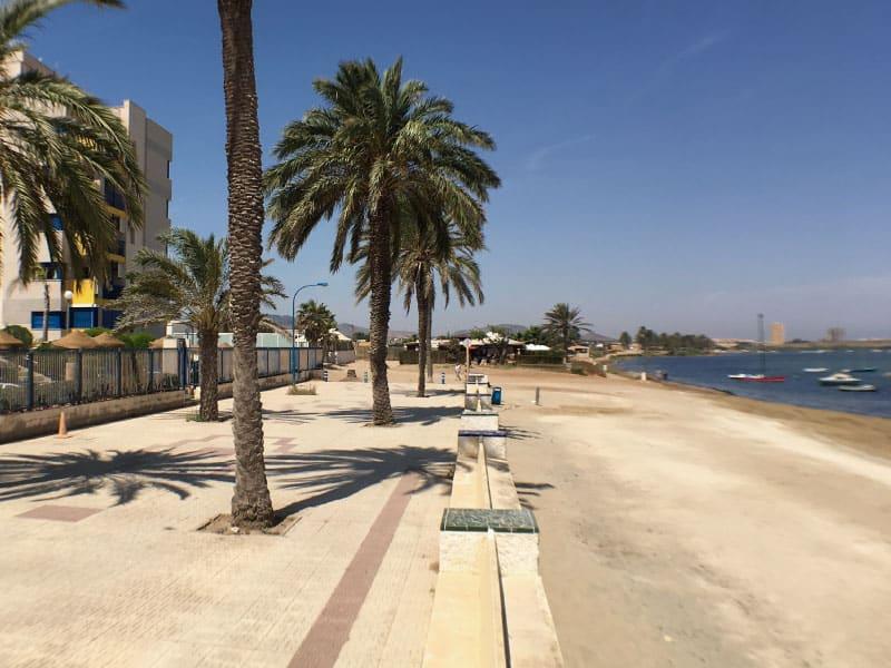 Superb beach location
