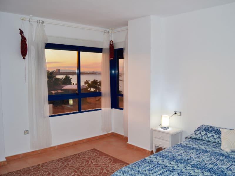 Spacious and luminous master bedroom
