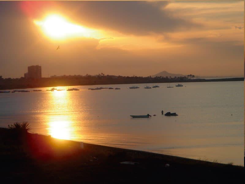 Sunset Blaze in Playa Honda - Photo credits: Toñi Blasco