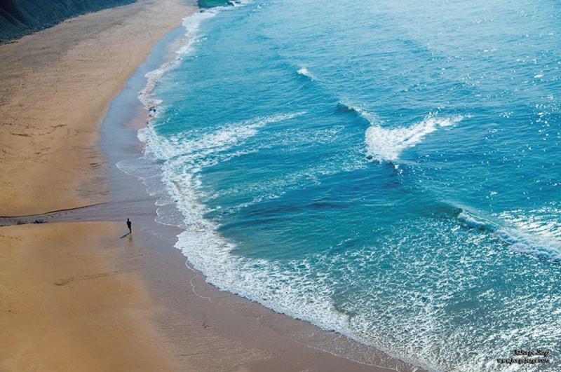 Naturaleza en la playa de Calblanque