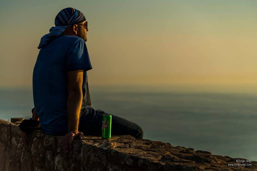 Un momento de relax en Cabo de Palos