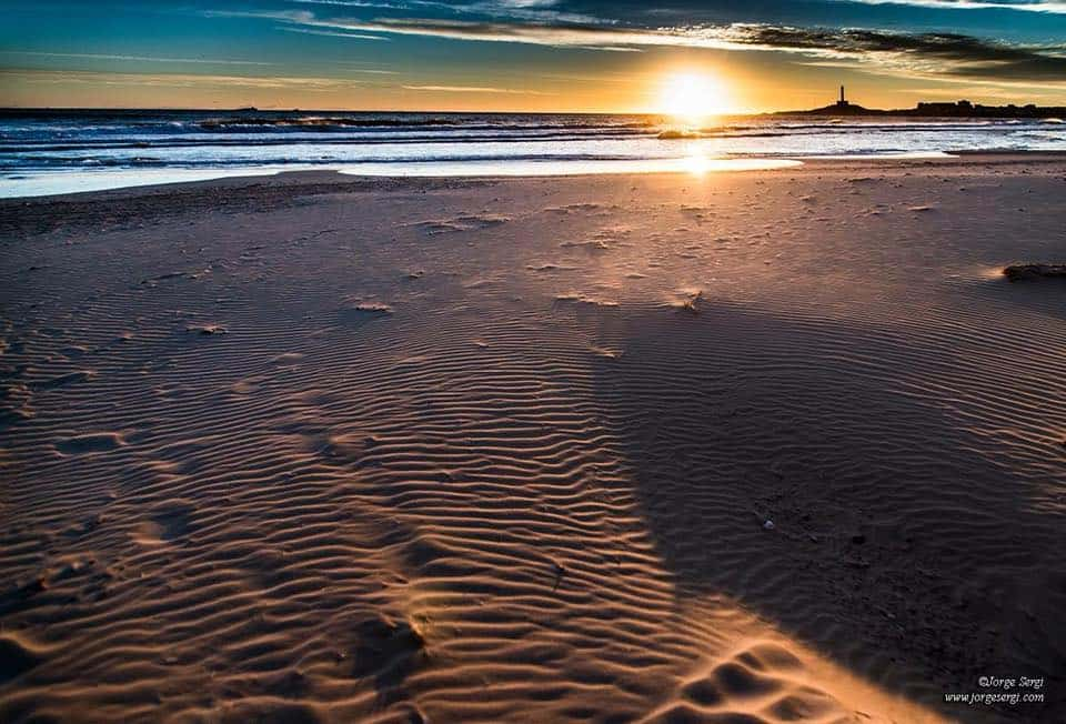 Beautiful Cabo de Palos beach