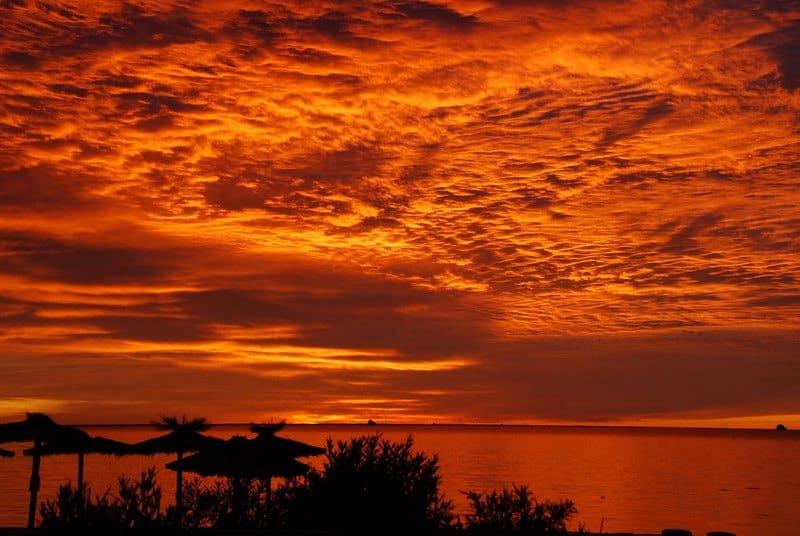 Cielo de fuego - Fire in the sky