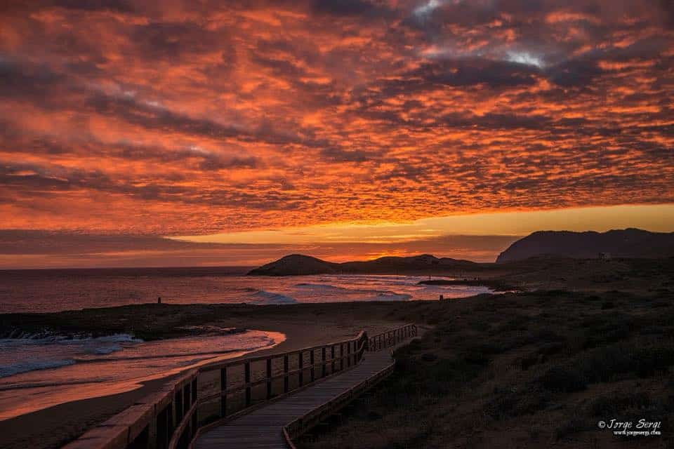 Welcome to paradise - Calblanque beach. Photography: Jorge Sergi