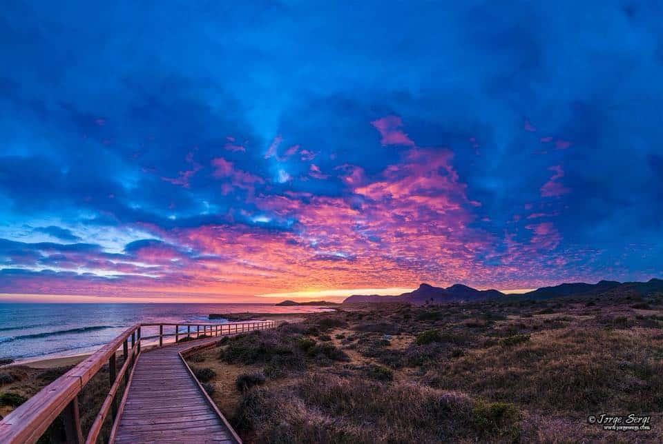 Entrance to Calblanque beach - Photography: Jorge Sergi