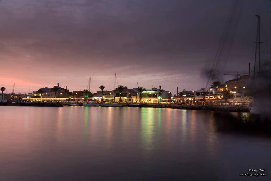 Por la noche en La Barra - Cabo de Palos