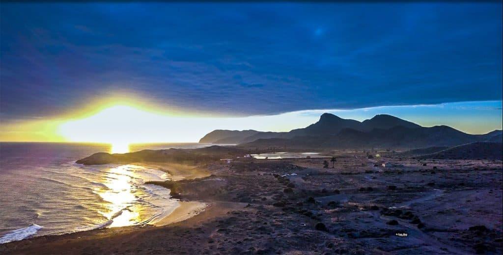 Buenos días - Sol en Calblanque