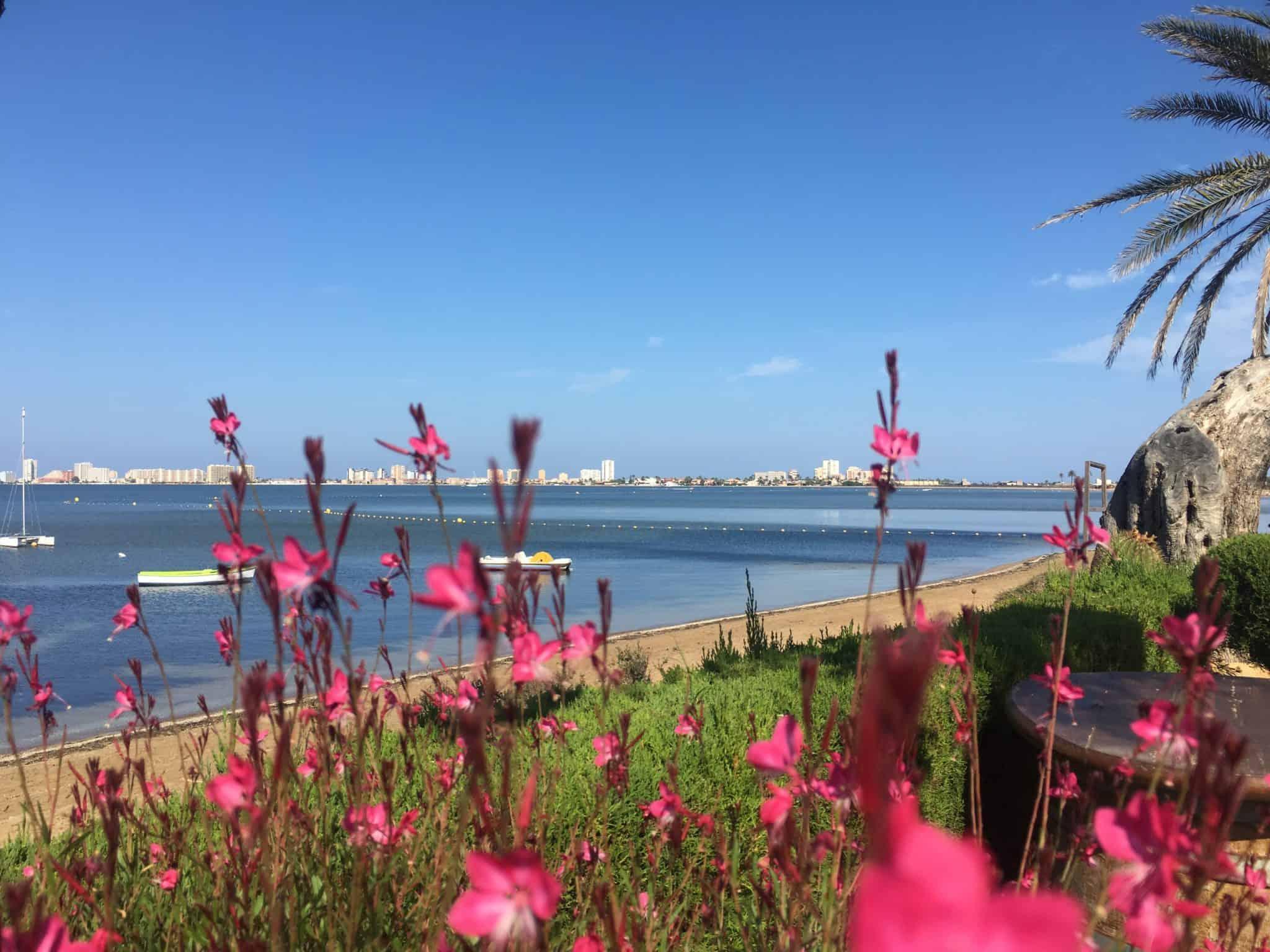 Looking towards La Manga from Playa Honda