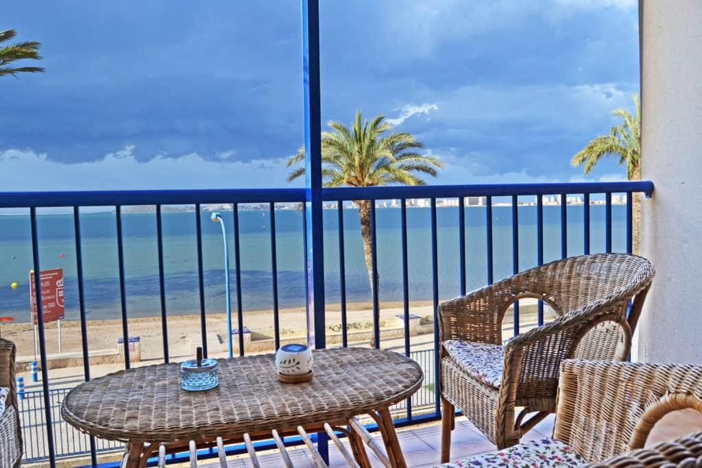 Disfruta las vistas desde tu balcón