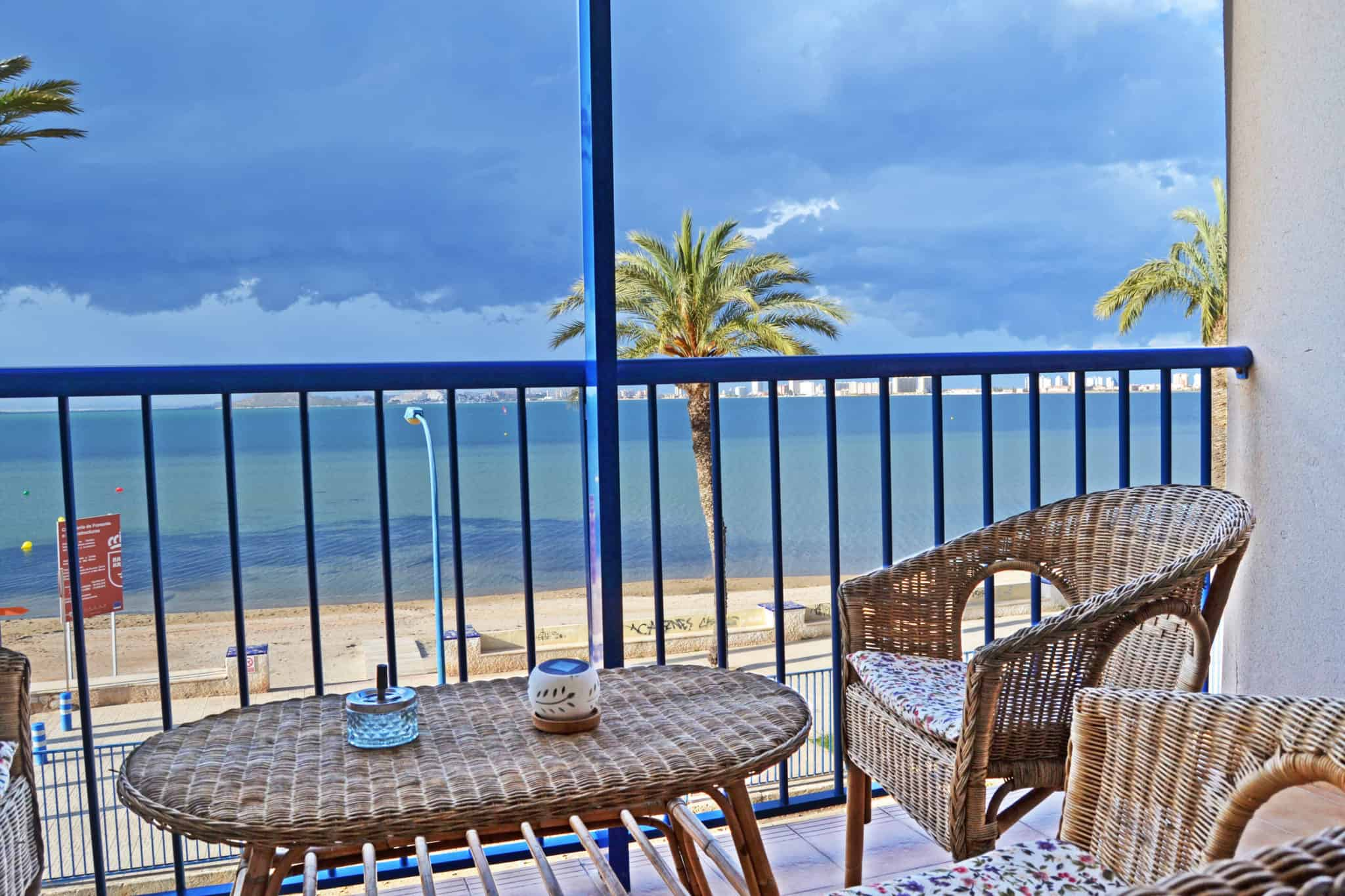 Enjoy the view from your balcony