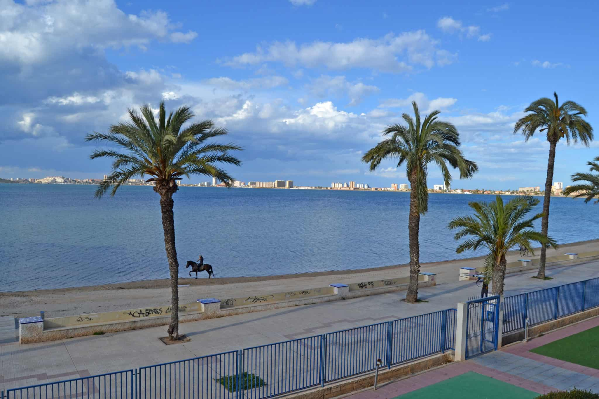 Horse riding in Playa Honda, by the Mar Menor