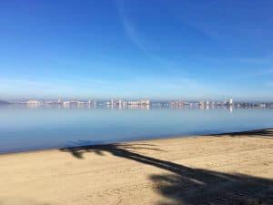 Good morning from the Mar Menor in Playa Honda