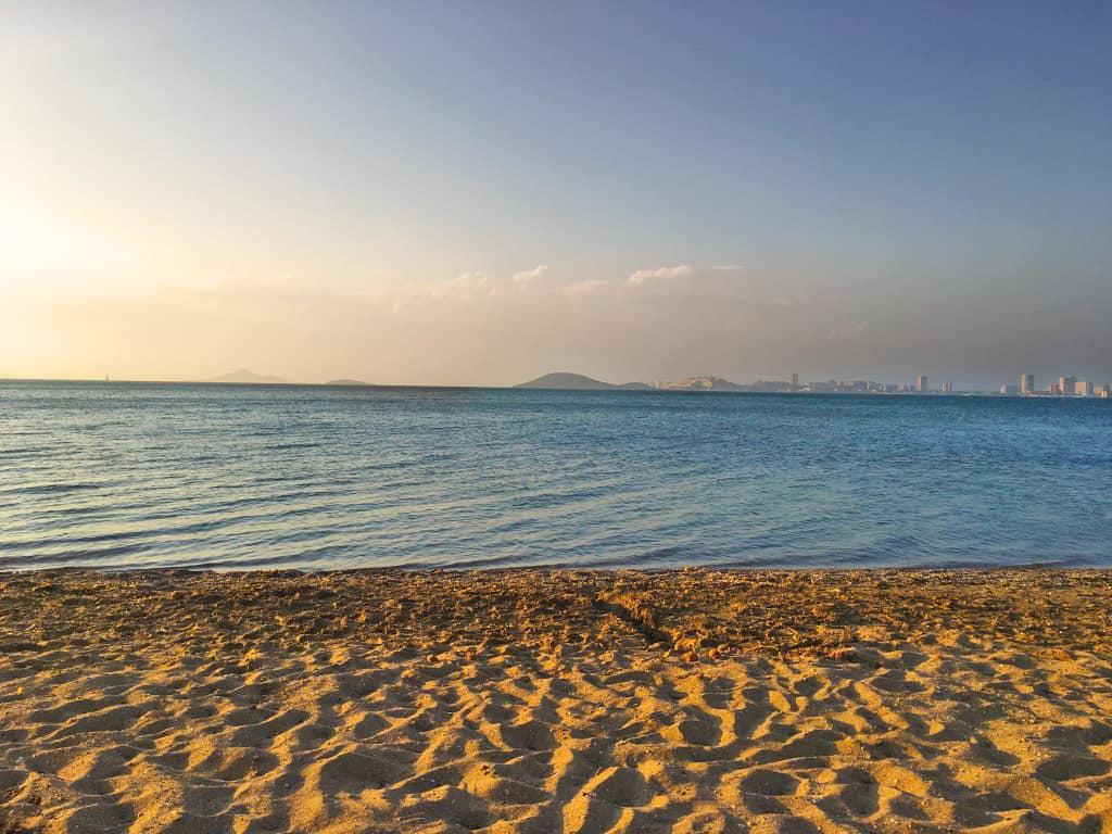 Playa del Mar Menor en Playa Honda