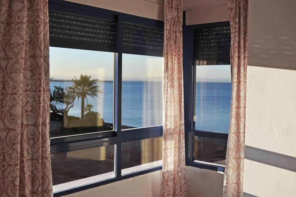 Estas vistas desde la ventana de tu habitación son un placer para la vista