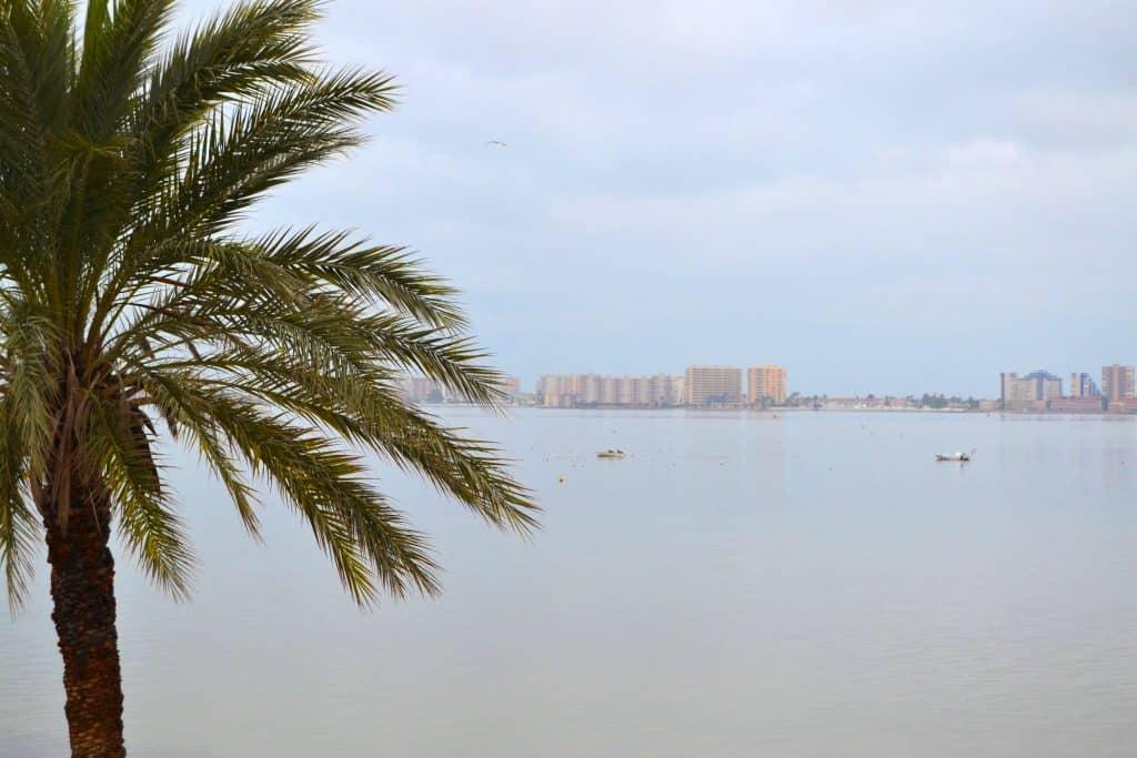 Aguas tranquilas del Mar Menor