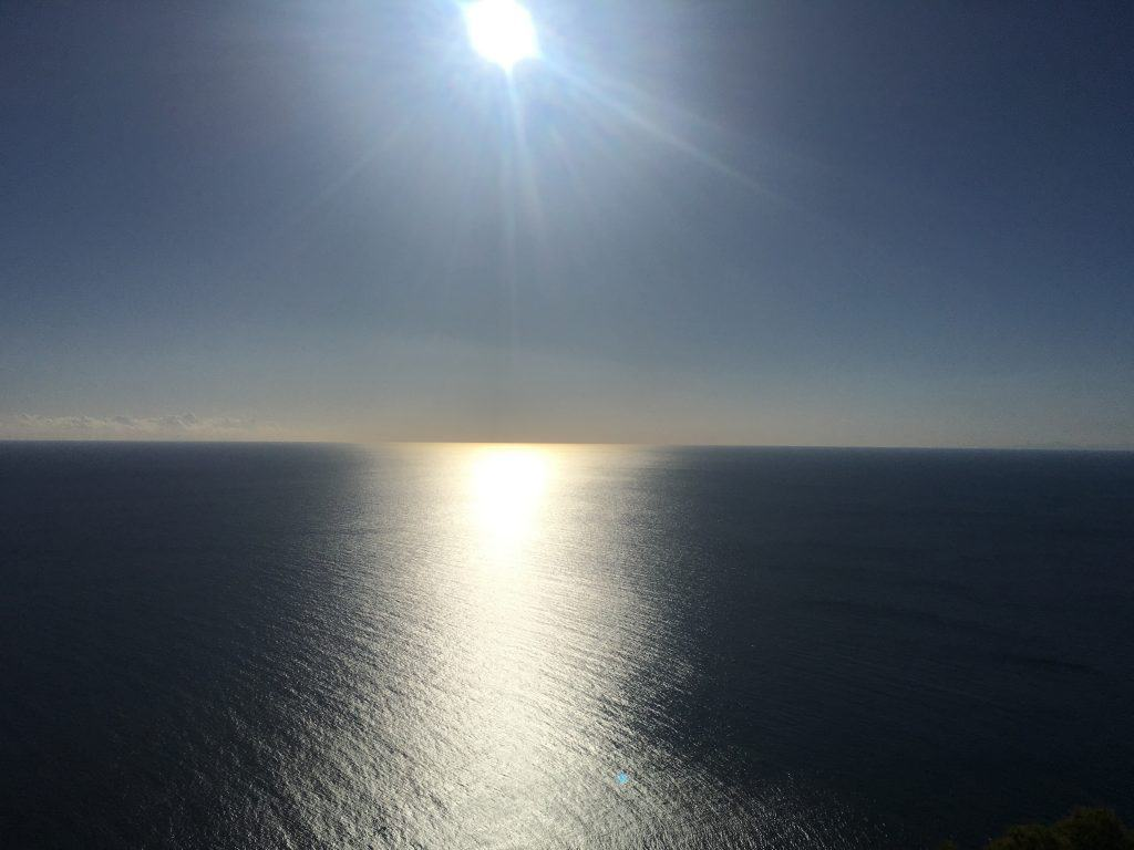 Horizon from Monte de las Cenizas