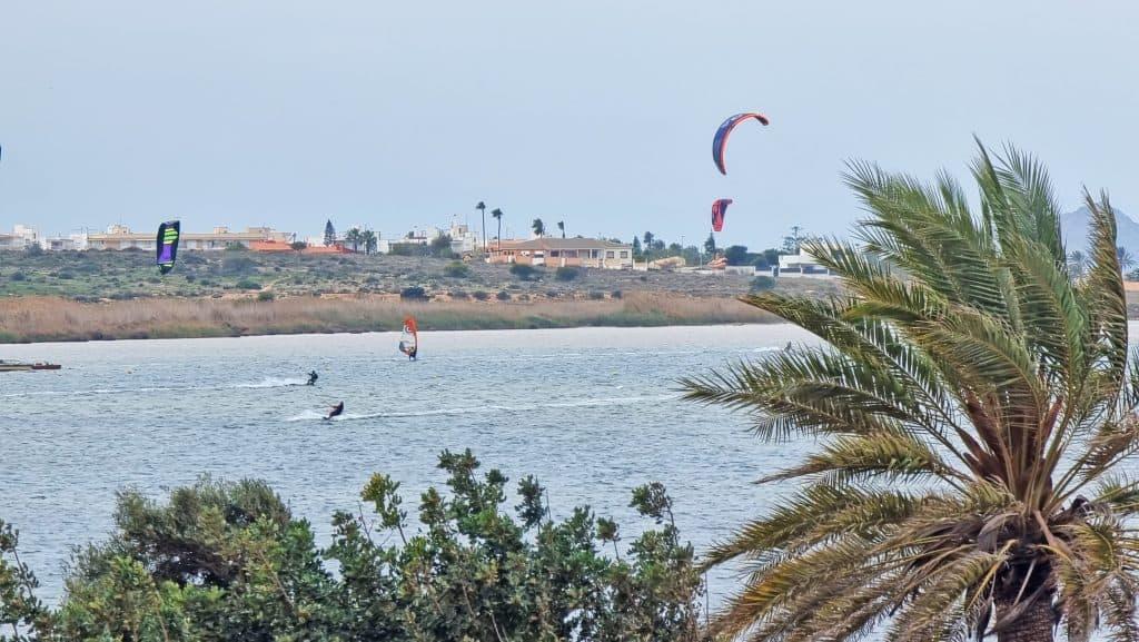 Kite surf en Playa Honda